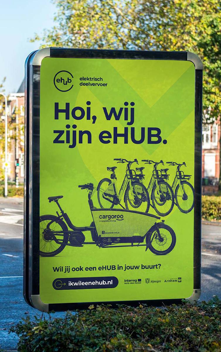 eHub abri in Nijmegen